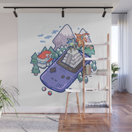 Pocket Monsters 2 - Mount Silver Wall Mural