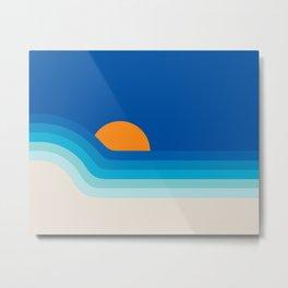 Ocean Dipper Metal Print
