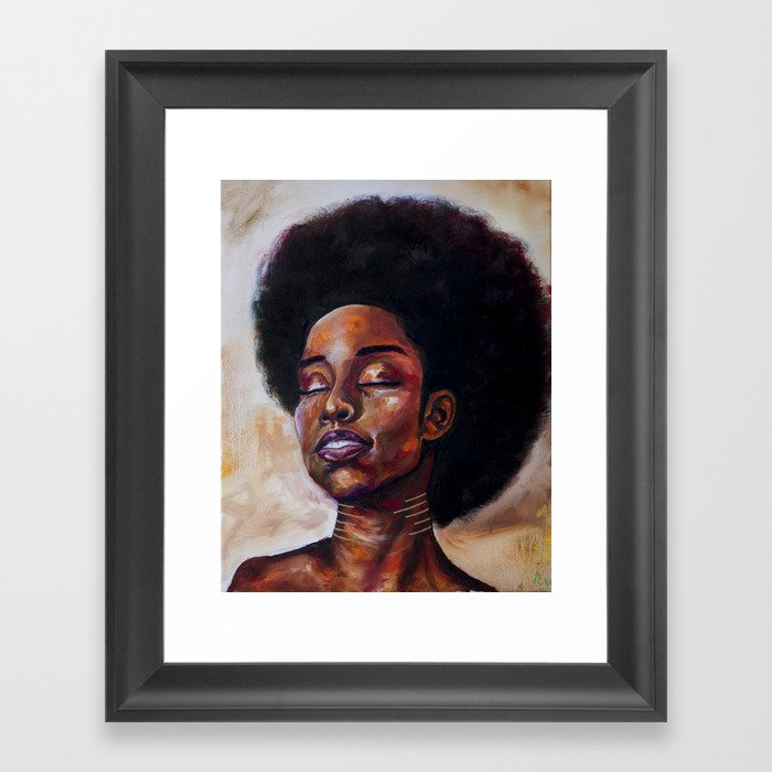 Glow Through Framed Art Print