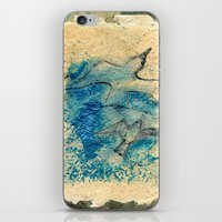 letter iPhone & iPod Skins featuring Letter by Irmak Akcadogan