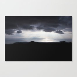 The Dark and the Light Canvas Print