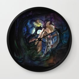 Lift me Out of this Hell Wall Clock