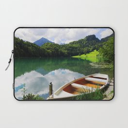 rowing boat on Alatsee Laptop Sleeve
