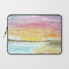 Magic Sunset Watercolor Art Laptop Sleeve