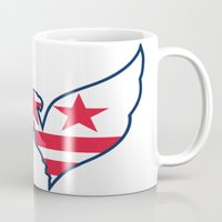 dc Mugs featuring DC Captials by Cultivate Bohemia