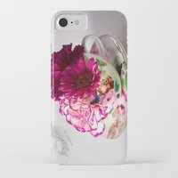 shabby chic iPhone & iPod Cases featuring Shabby chic floral by inkedsandra