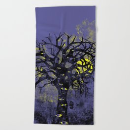 The Vision Tree Beach Towel