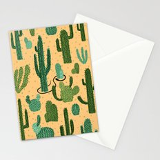 The Snake, The Cactus and The Desert Stationery Cards