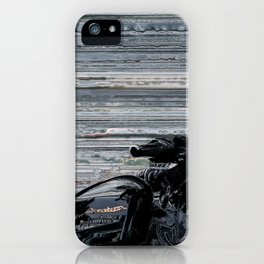 Black & Fast iPhone Case