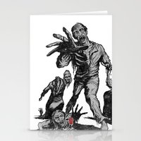 zombies Stationery Cards featuring Zombies by Christian G. Marra