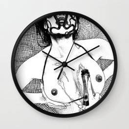 asc 617 - Les Libations II (Call upon Her name and she will answer) Wall Clock