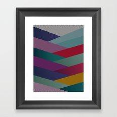 Shape series 6 Framed Art Print