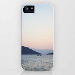 quiet sea iPhone Case