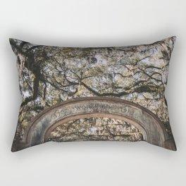 Wormsloe Historic Site - Savannah, Georgia Rectangular Pillow