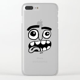 WACKY Clear iPhone Case