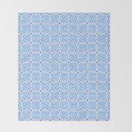 Block Print I Throw Blanket
