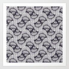 Bookworm-Ink Art Print