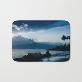 Polo Beach Dreams Maui Hawaii Bath Mat