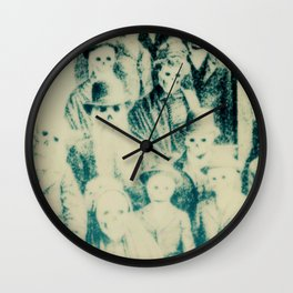 Calling All Skeletons No.1 Wall Clock