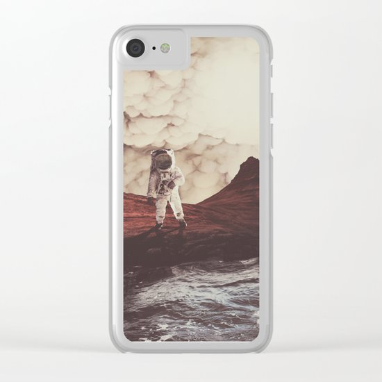 TERRAFORMING MARS Clear iPhone Case