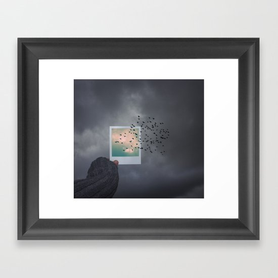 The next best thing to be Framed Art Print