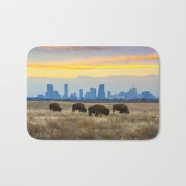 City Buffalo Bath Mat