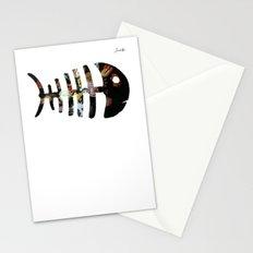 Fish Colors Fashion Paris Jacob's 1968 Design Stationery Cards