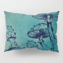 Mushroom Garden Pillow Sham
