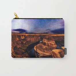 Horseshoe Bend Starseeds - Starry Sky Night at Grand Canyon Arizona Carry-All Pouch