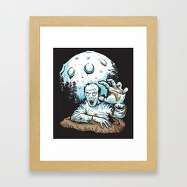 Z! Framed Art Print