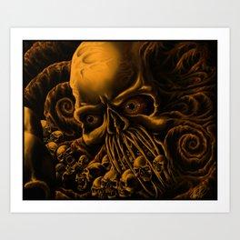 The Unleashing Art Print