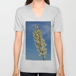 Soap Yucca Blossoms Unisex V-Neck