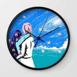 To Nowhere With You Wall Clock