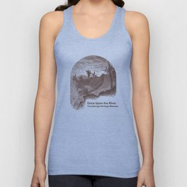 Once Upon the River (Ticonderoga Falls) Unisex Tank Top