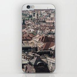 Prague Rooftop 04 iPhone Skin