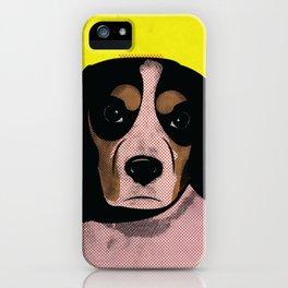 Judgmental Beagle Boy iPhone Case