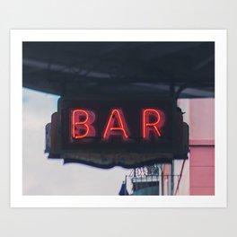 Southern Bar Art Print
