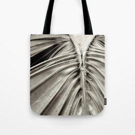 cabbage palm tree leaf Tote Bag