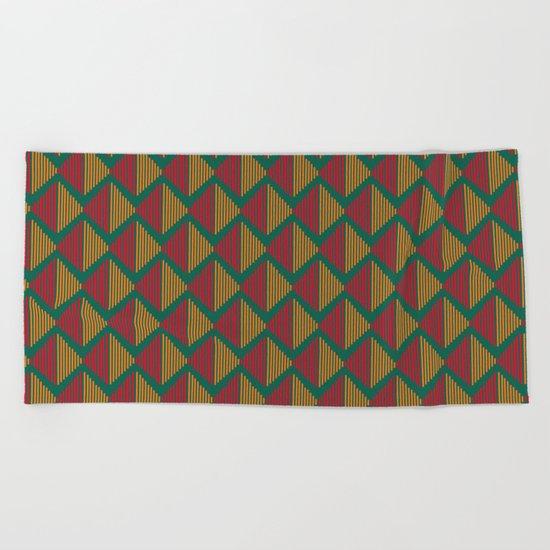 Pattern J 9 Beach Towel