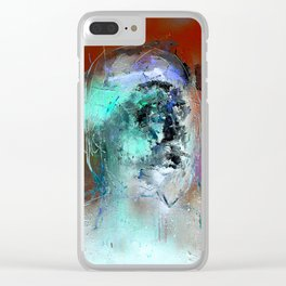Self portrait of somebody else 3 Clear iPhone Case