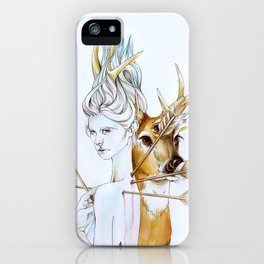 Martyr (Saint Sebastian) iPhone Case