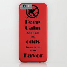 Keep Calm And May The Odds iPhone 6s Slim Case