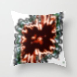 Sea Triscuit Throw Pillow