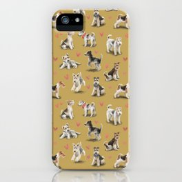 The Fox Terrier iPhone Case
