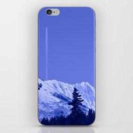 True Blue iPhone Skin