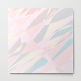 abstract pink background Metal Print