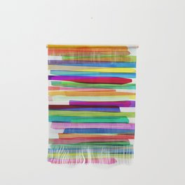 Colorful Stripes 1 Wall Hanging