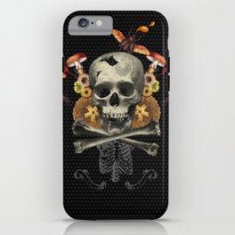 Hard Skull iPhone Case