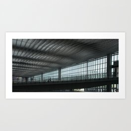 HKIA Terminal 2 Art Print