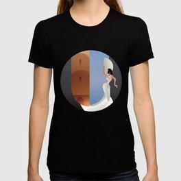 Art Deco styled Spain Flamenco dancer T-shirt